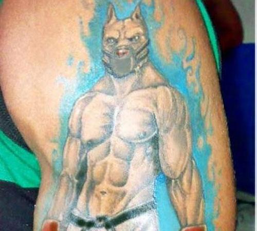 Pitbull BJJ Tattoo