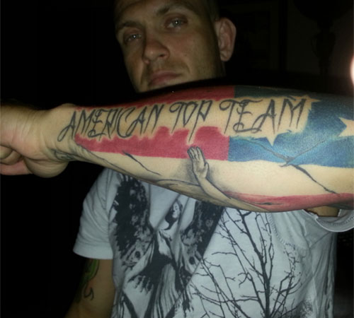 American Top Team Tattoo