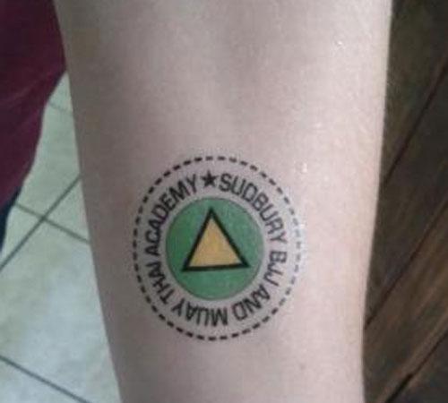 Sudbury Academy Tattoo