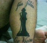 Chico Mendes Checkmat Tattoo