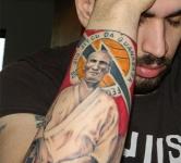 Helio Gracie Tattoo