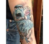 Muppets Gonzo Tattoo