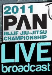 Pan American BJJ Tournament Live Broadcast