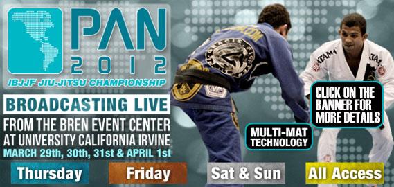 Pan American Jiu Jitsu Championship Broadcast 2012