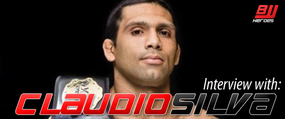 "Claudio Silva Interview ""I Don't Choose Fights"""