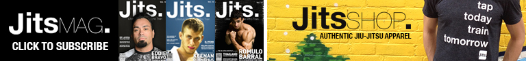 Brazilian Jiu Jitsu store for Jits Magazine