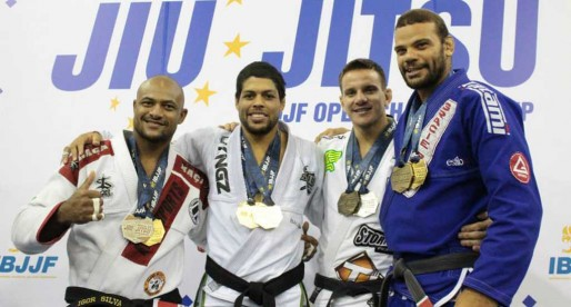 2015 European BJJ Open Results