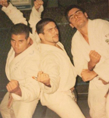 Leo Vieira, Roni (RIP) and Zicro, 1996