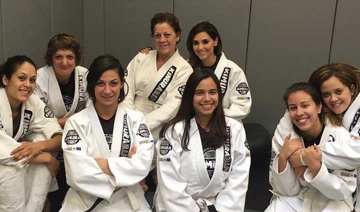 Kimura women's classes.
