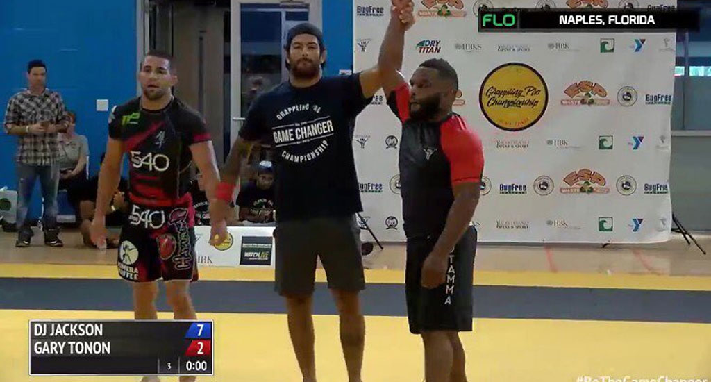 Grappling Pro Results: Jackson Defeats Tonon and Hulk to Take Gold!