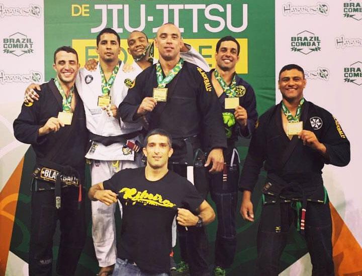 Ribeiro JJ Winning team