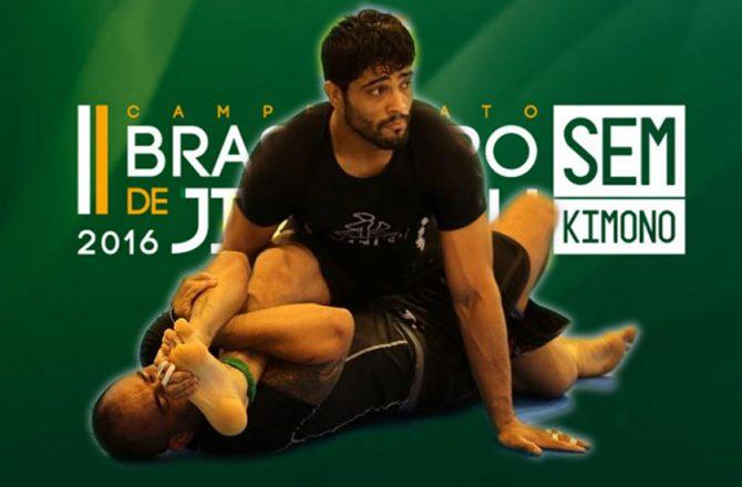 Brazilian No-Gi Nationals 2016 Results: Dimitrius Souza Reigns Supreme!
