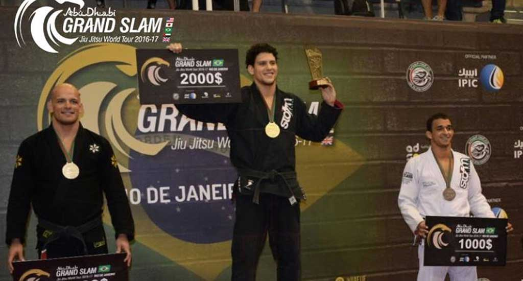 Abu Dhabi Grand Slam Rio Results: Xande Beats Romulo, Pena Avenges his Master
