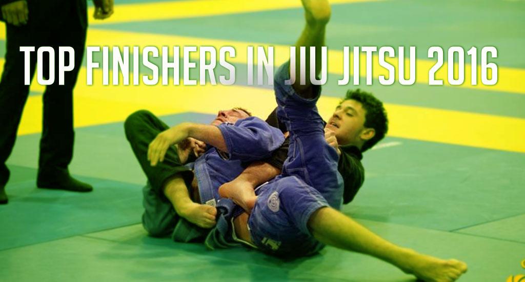 Top Finishers in Jiu Jitsu 2016