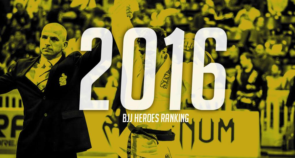 2016 Brazilian Jiu Jitsu Ranking