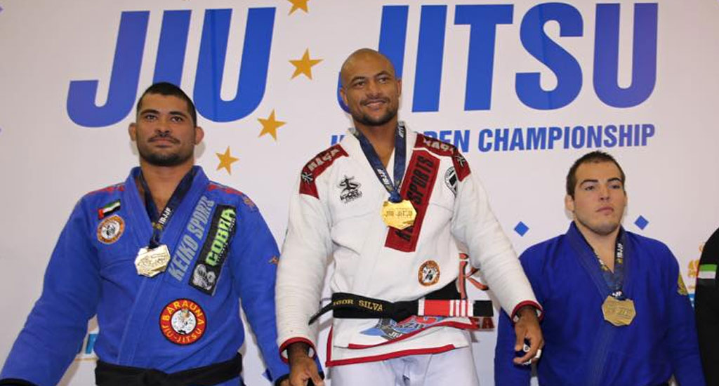 Silva and Evangelista Protest Against Biassed Refereeing at UAEJJF