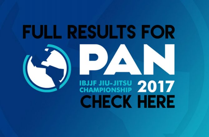 IBJJF Pan Ams Results: Lo Submits JGR for Double Gold!