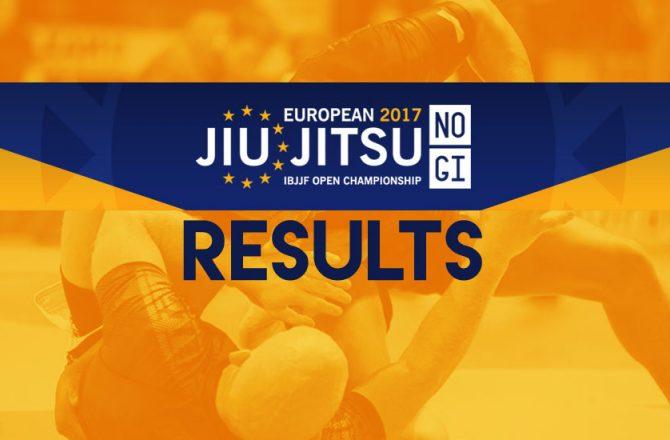 IBJJF Euro No-Gi Open: Agazarm, Bahiense, Sá and Aly Victorious!
