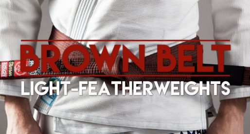 IBJJF Worlds: Brown Belt Light-Featherweight Division is Stacked !