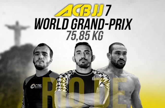 ACBJJ Grand Prix Live Broadcast (FREE)