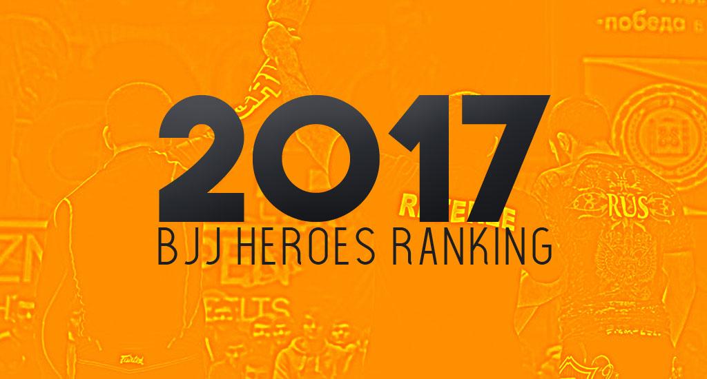 Brazilian Jiu Jitsu Ranking 2017