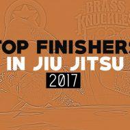 Top Finishers in Jiu Jitsu 2017