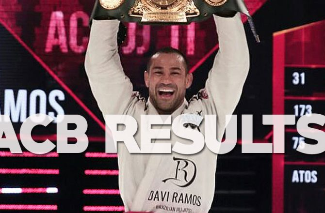 ACBJJ 11 Full Results