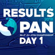 IBJJF 2018 Pans: Upsets Shake Up Day 1 at Black Belt