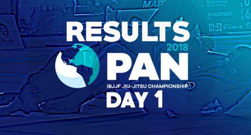 IBJJF 2018 Pans: Upsets Shake Up Day 1 at Black Belt