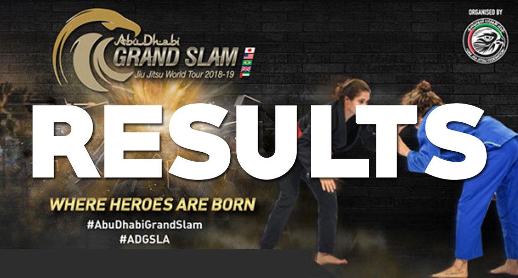 LA Grand Slam Results: Grippo Beats Miyao, Ribamar in Great Form and Erberth is BACK!