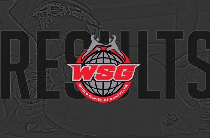 WSOG II Results, Manuel Ribamar Shines Brightest in Grappling Constellation