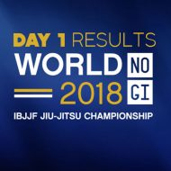 IBJJF 2018 World No-Gi Results: Day 1