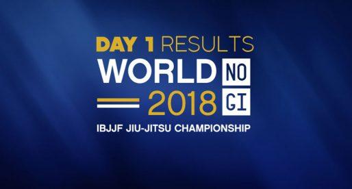 IBJJF 2018 World No-Gi Results: Day 1