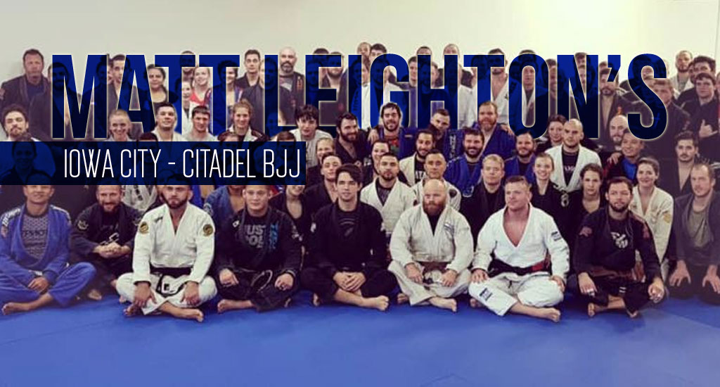 Matt Leighton: Raising the Bar for BJJ in Iowa