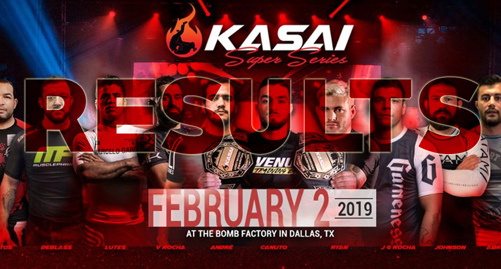 Kasai Results: Huge Performances by Canuto and Tex, Gordon Outscores Rocha