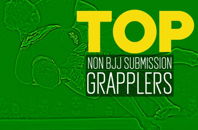 Top Non-BJJ Submission Grapplers