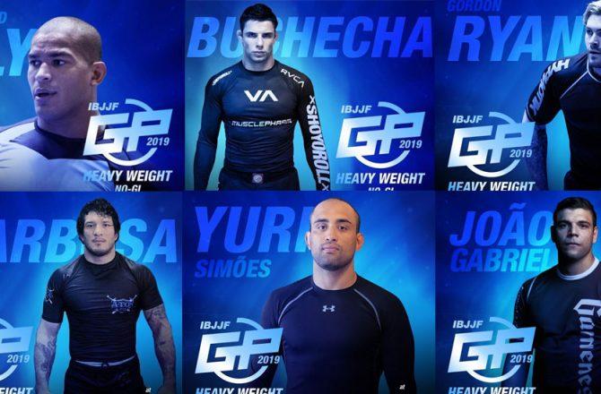 IBJJF Heavyweight Grand Prix Line-up