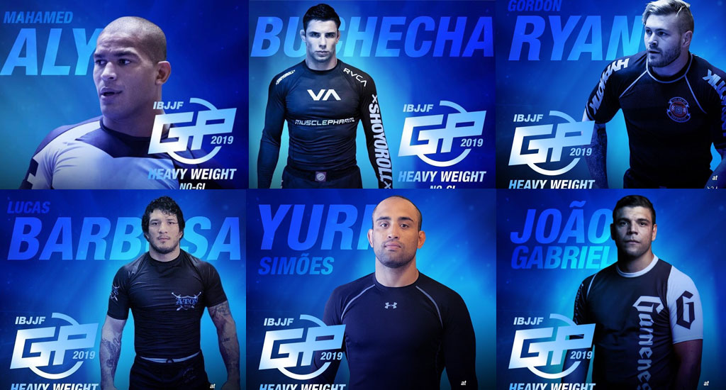 IBJJF Heavyweight Grand Prix Line-up