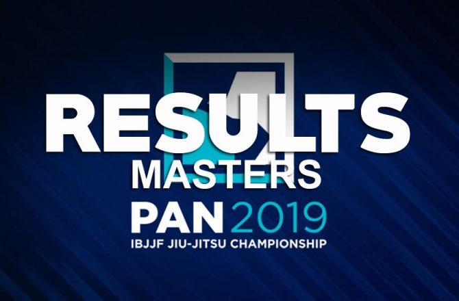 IBJJF Pan Masters Results, Formiga and Pichilinga Victorious, Burton Makes a Stand