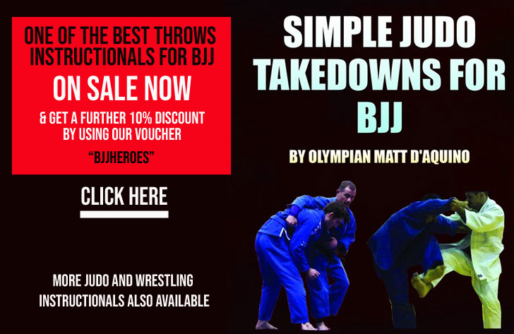Throws and Takedowns for BJJ
