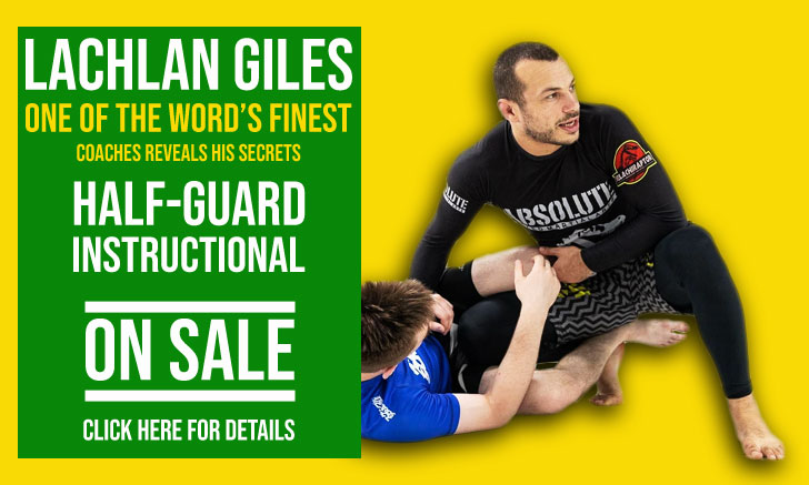 Half Guard Anthology Instructional by Lachlan Giles