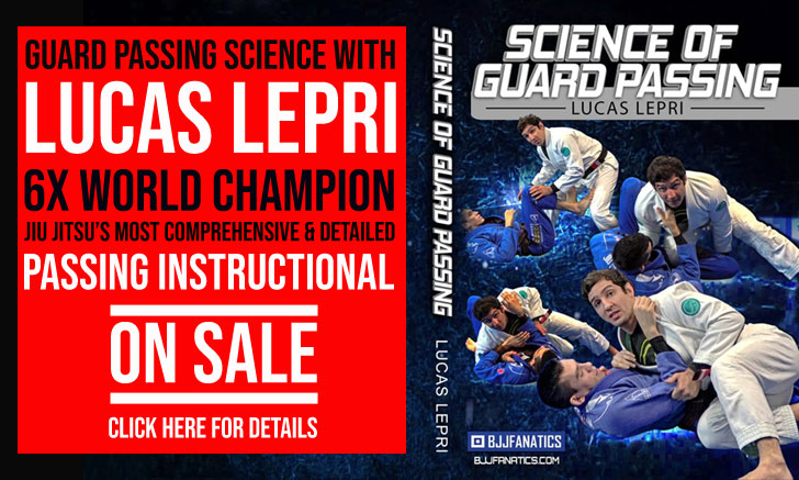 Guard Passing Instructional by Lucas Lepri