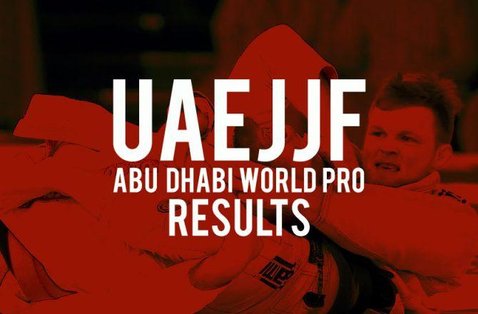 UAEJJF Abu Dhabi Pro Results: Huge Wins for The Viking, João Gabriel and Kaynan