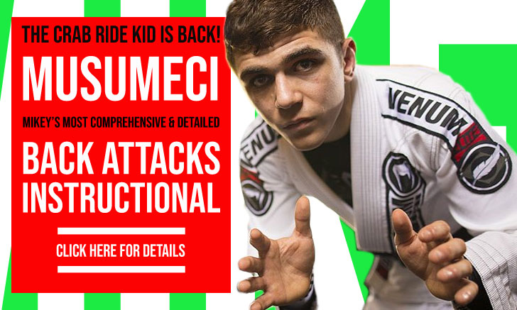 Back Takes Instructional by Michael Musumeci