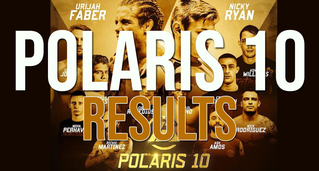 Polaris 10 Results: Ash Williams With Big Upset, Beats Crelinsten For LW Title