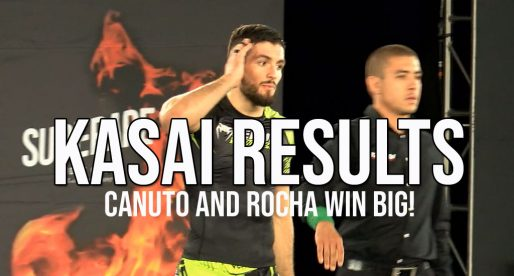 Kasai Super-Series Results, Big Wins For Canuto, Rocha and Craig Jones