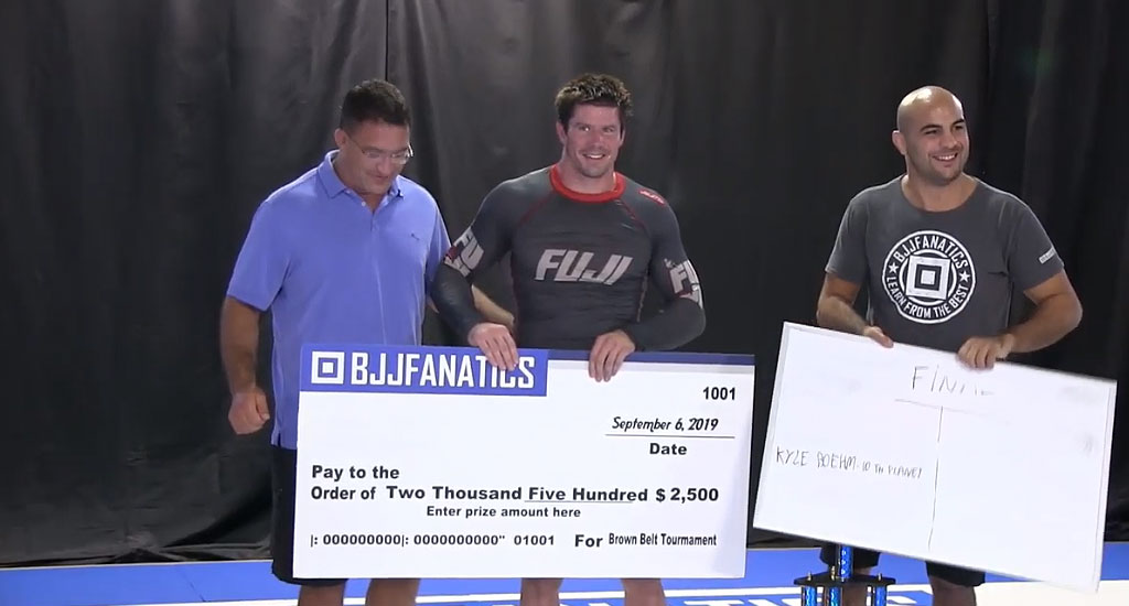 BJJ Fanatics Tournament Results