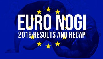 IBJJF 2019 European No-Gi Open Results