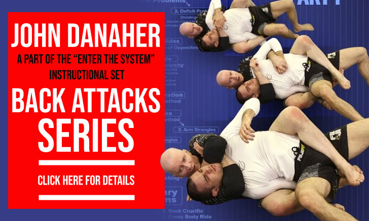 Submission Back Attacks Instructional by John Danaher