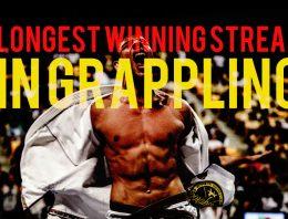 Who Has The Longest Winning Streak in Grappling?